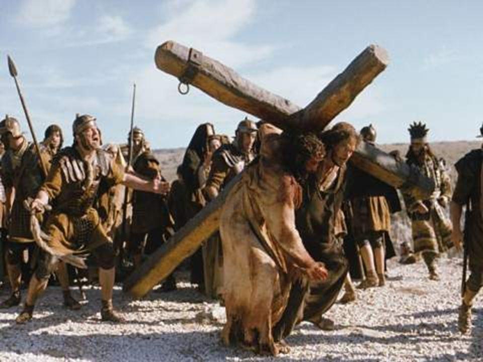 4.La Crucifixión y la Muerte: - El Camino hacia el Calvario es breve...