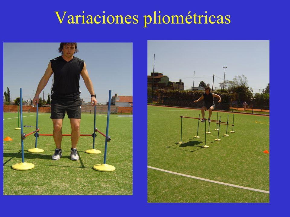 Variaciones pliométricas