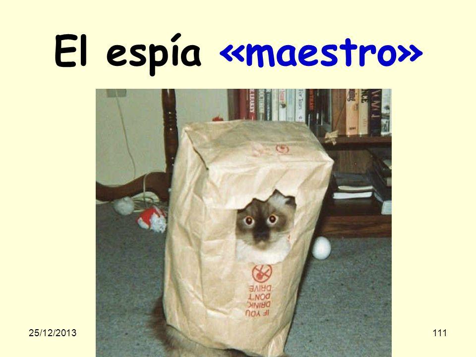 25/12/2013gilalme@gmail.com110 El espía