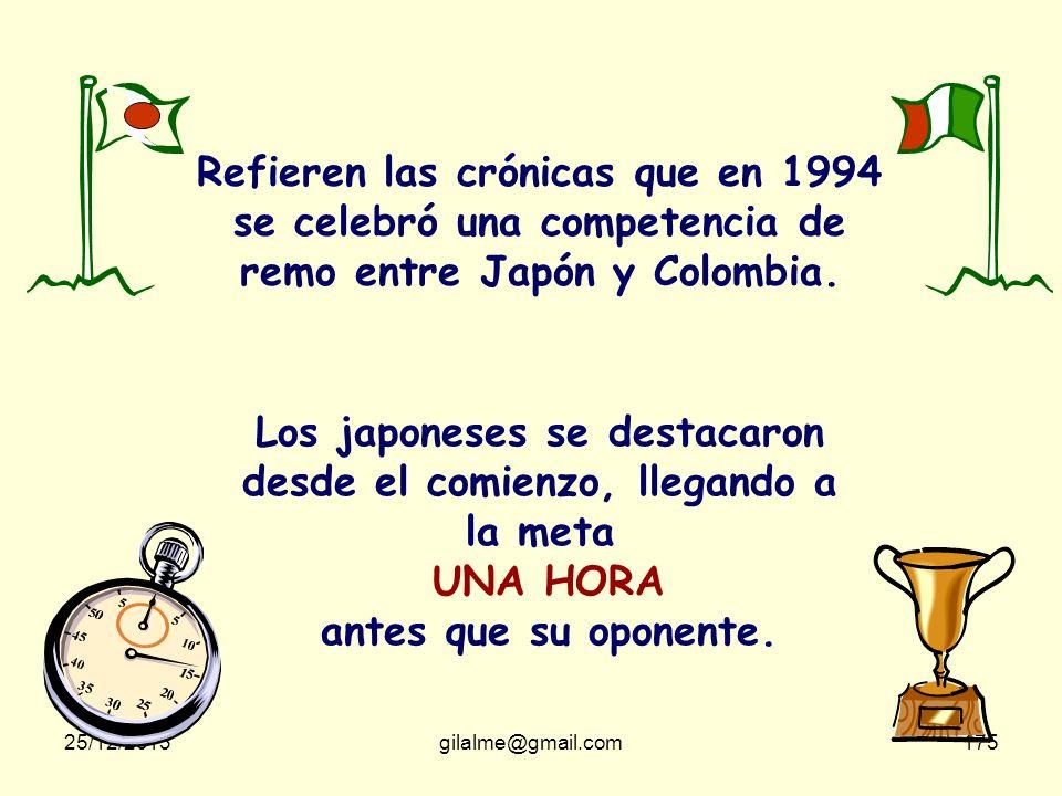 25/12/2013gilalme@gmail.com174 La cábula de los Colombianos y los Takatakas