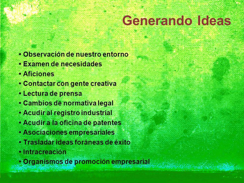 Plan de marketing y análisis de viabilidad de nuevo producto Generando Ideas