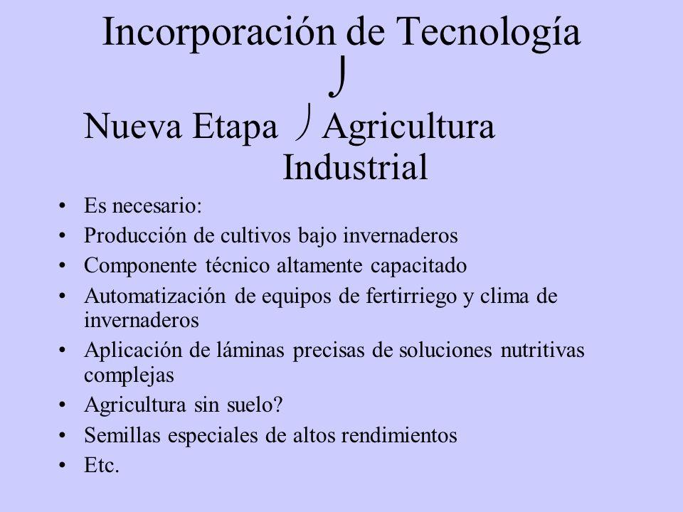 AUTOMATIZACION EN CULTIVOS INTENSIVOS Ing. Agr. Gabriel Arciniega