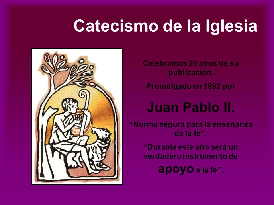 Catecismo de la Iglesia Celebramos 20 años de su publicación.