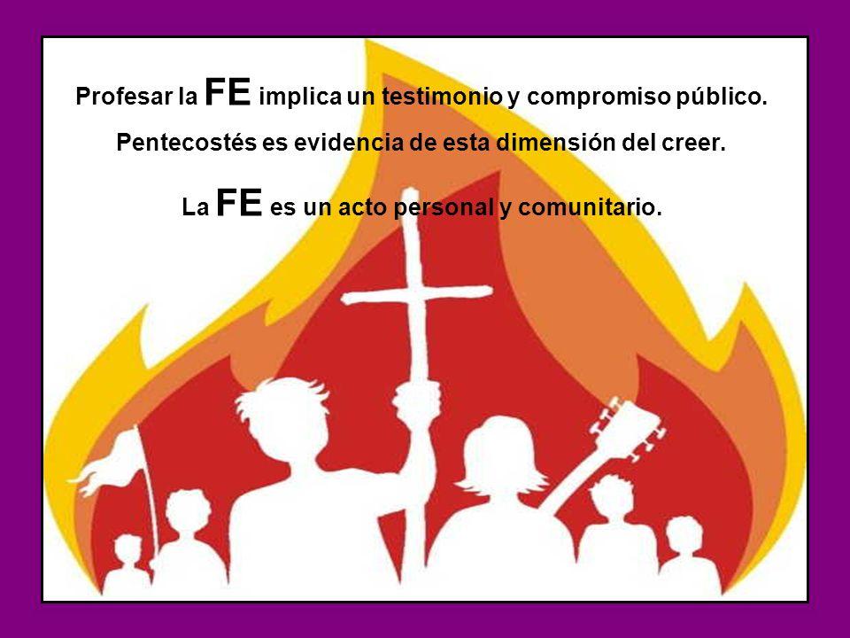 CREO : es la fe de la Iglesia profesada por cada creyente.