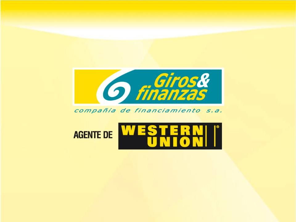 Razones para entrar en el negocio de Microseguros Giros y Finanzas inició operaciones con una licencia de Casa de Cambios dedicada exclusivamente al negocio de remesas internacionales como agente de Western Union.