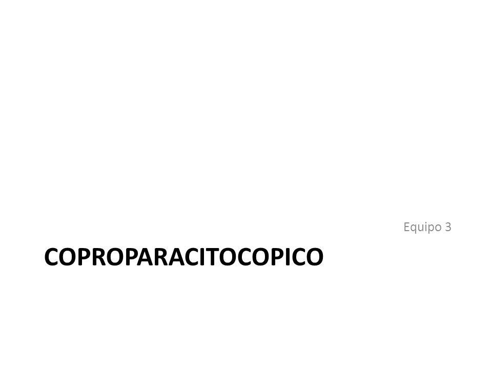 COPROPARACITOCOPICO Equipo 3