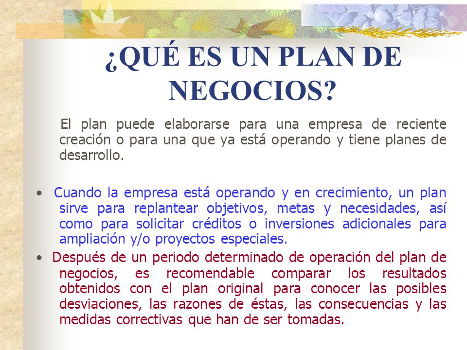 3 DESCRIPCION DE LA EMPRESA 3.1 Situación presente: Razones que dieron origen a su negocio.