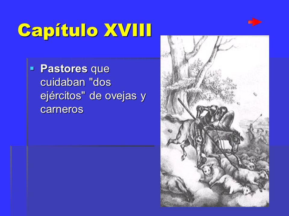 Capítulo XVIII Pastores que cuidaban