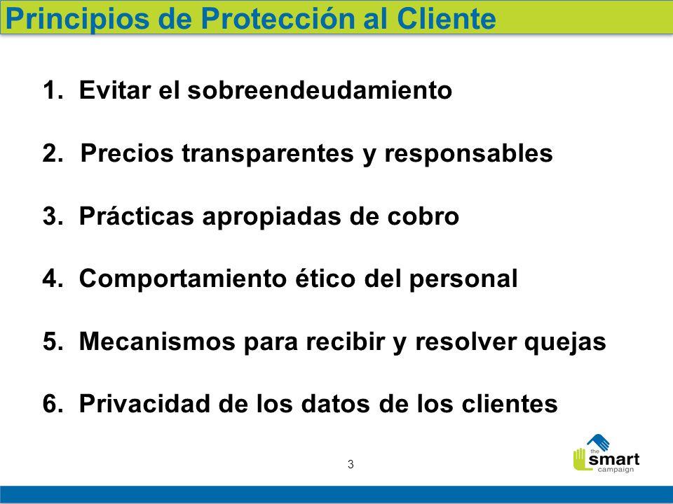 4 Principio #3 en práctica Como afectan a los clientes y a las instituciones las malas practicas de cobro Retroalimentación de los participantes Lecciones y buenas prácticas del campo Conclusión y llamado a la acción Agenda