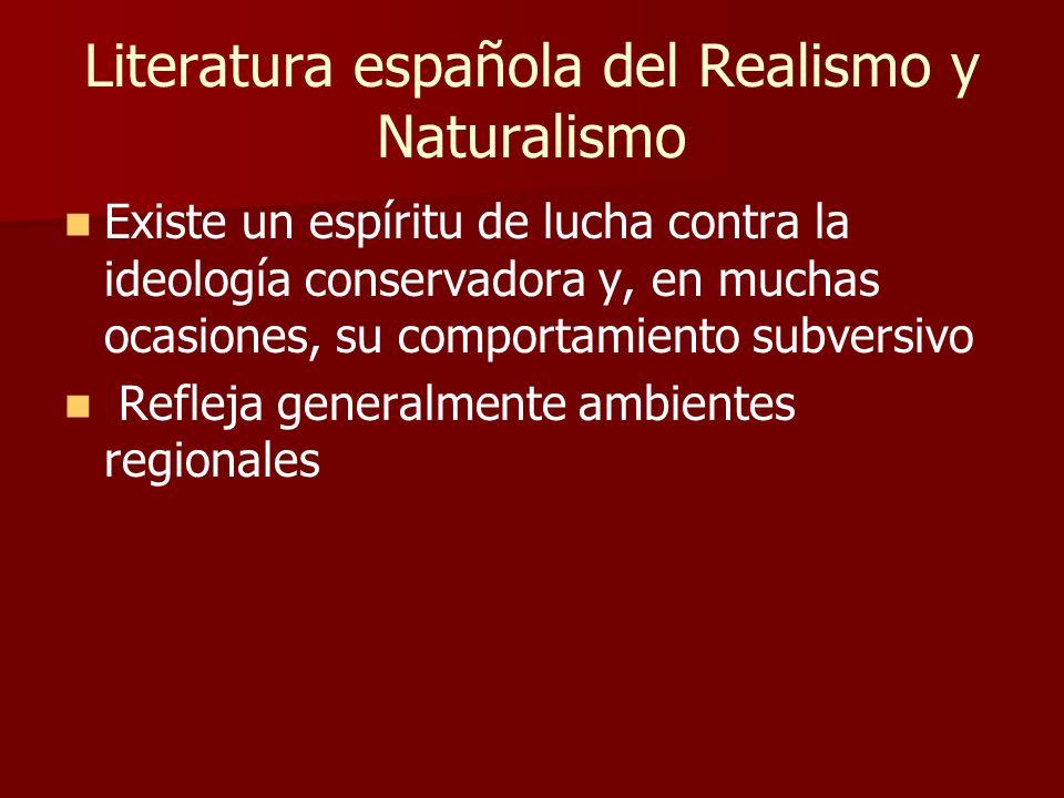 SIGLO XIX: REALISMO Y NATURALISMO Obra ¡Adiós, Cordera! Las medias rojas PersonajesTemaResumen