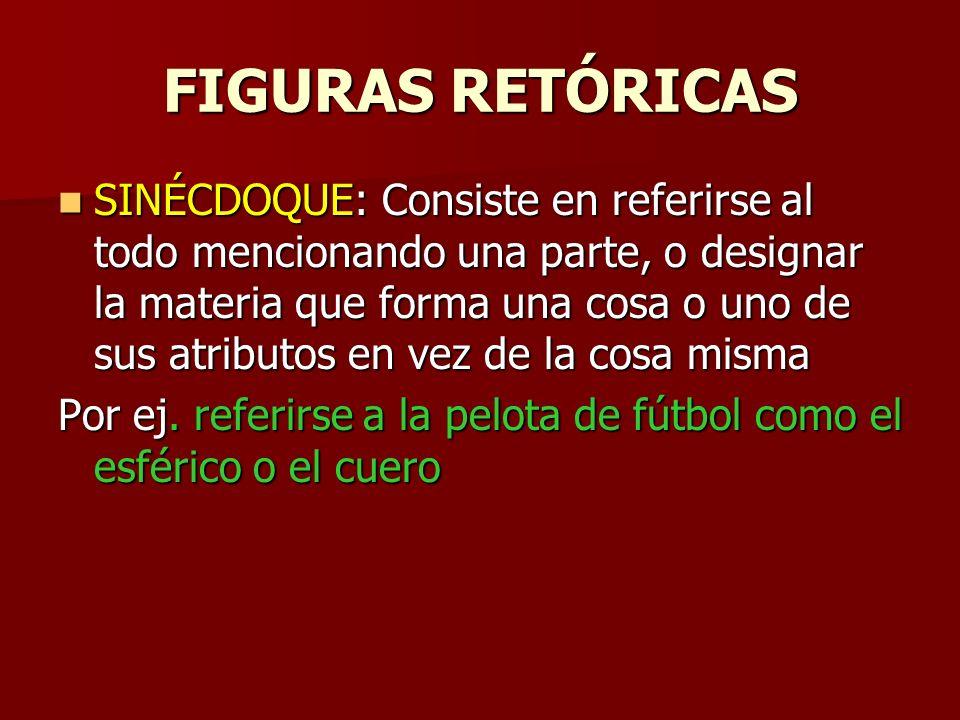 FIGURAS RETÓRICAS EPÍTETO: Un adjetivo atributivo no restrictivo.