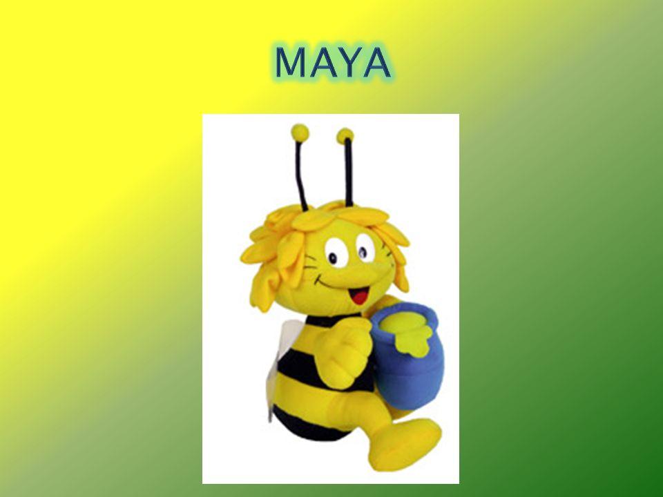 Presentación de la abeja Maya que les lleva a los niños un tarro de miel.