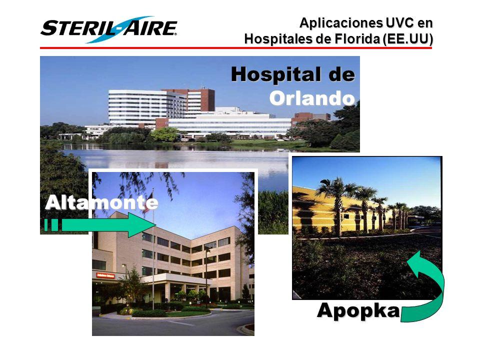 Hospital de Orlando Altamonte Apopka Aplicaciones UVC en Hospitales de Florida (EE.UU)