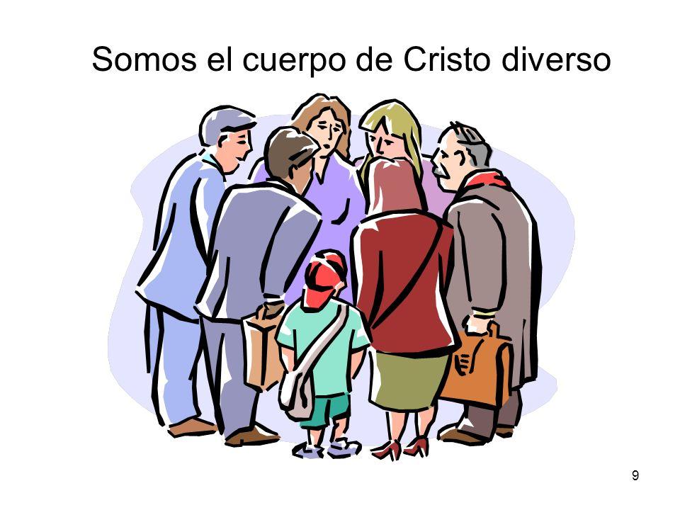 9 Somos el cuerpo de Cristo diverso