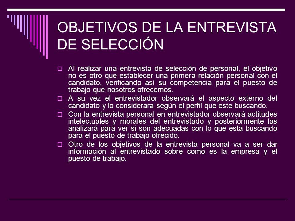 El Proceso de Entrevista I.