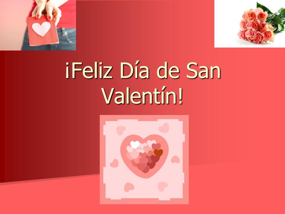 El día de San Valentín in Spanish Speaking Countries In most of South America, Valentines Day is known as El día del amor y la amistad, or Love and Friendship Day.