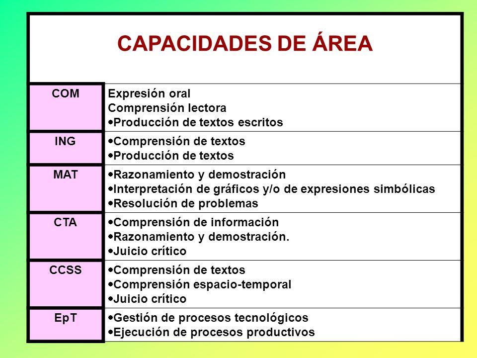 Luis Facundo CAPACIDADES FUNDAMENTALES Son de alto grado de complejidad Se relacionan con las grandes intencionalidades del currículo. Se desarrollan