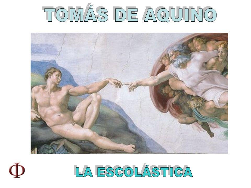 CRÍTICA DE KANT A TOMÁS DE AQUINO Tomás de Aquino aplica las categorías (causa), que sólo tienen validez en el campo de la experiencia, a un ámbito que la transciende.
