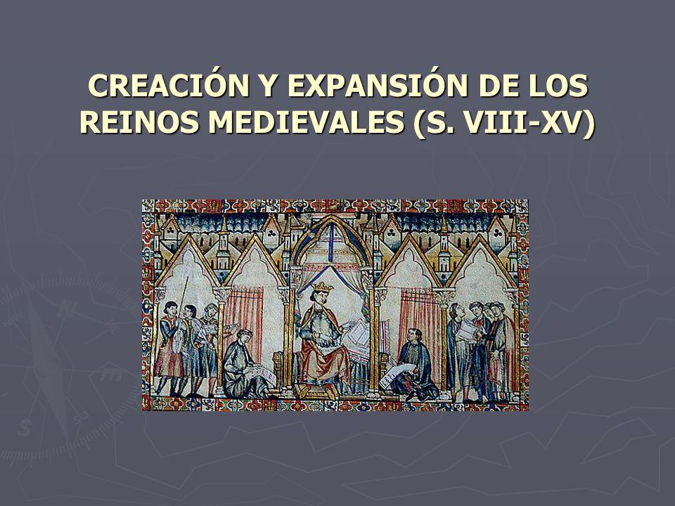 FORMACIÓN DE LOS PRIMEROS REINOS CRISTIANOS (s.