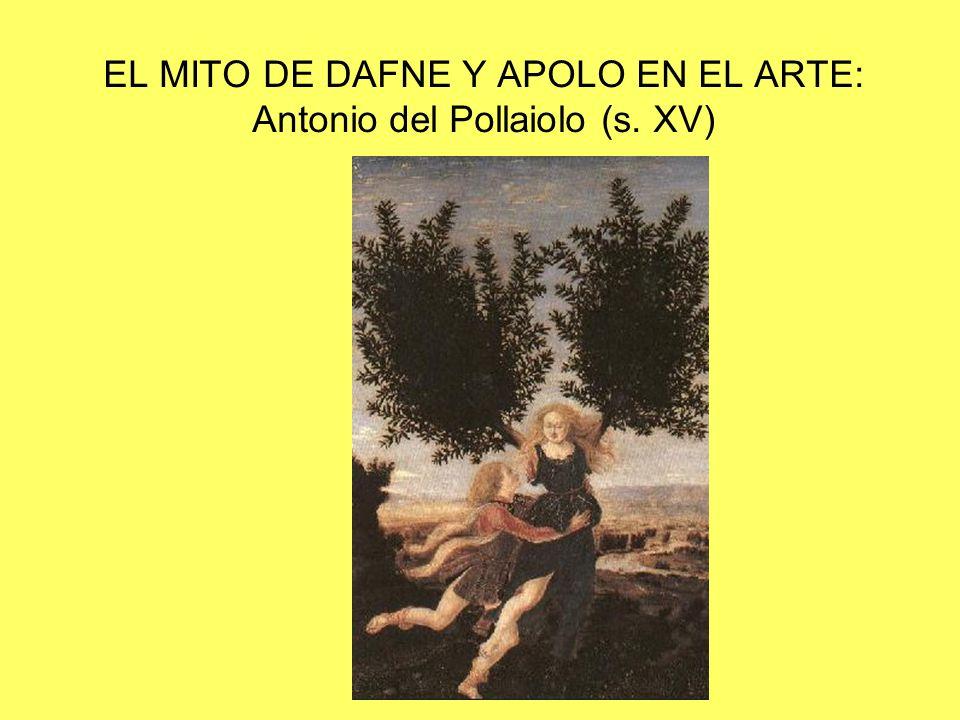 EL MITO DE DAFNE Y APOLO EN EL ARTE: Antonio del Pollaiolo (s. XV)
