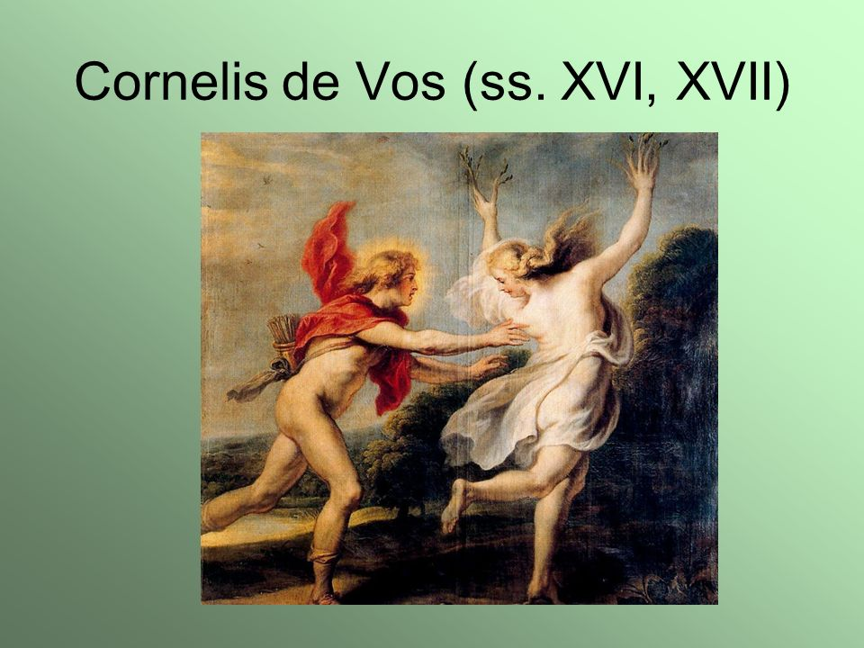Cornelis de Vos (ss. XVI, XVII)