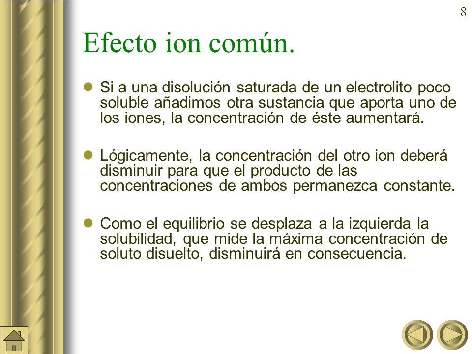7 Factores que afectan a la solubilidad Además de la temperatura, existen otro factores que influyen en la solubilidad por afectar a la concentración