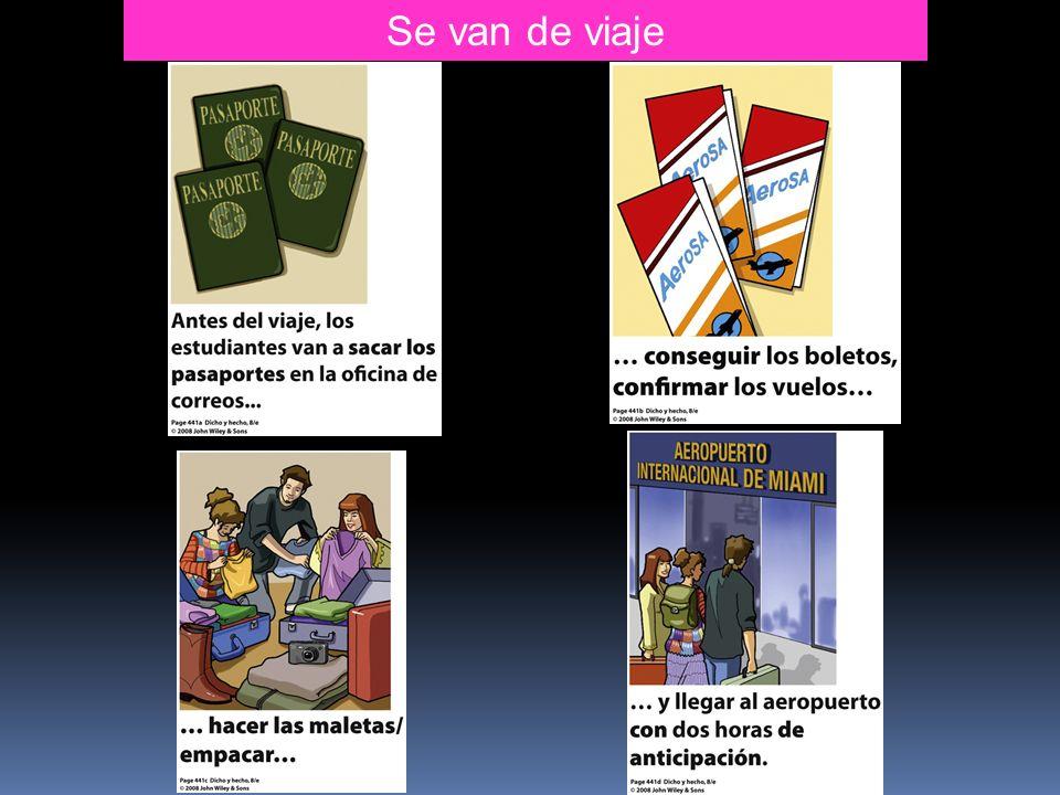 Practice the subjunctive with indefinite entities ¿Hay alguien que….