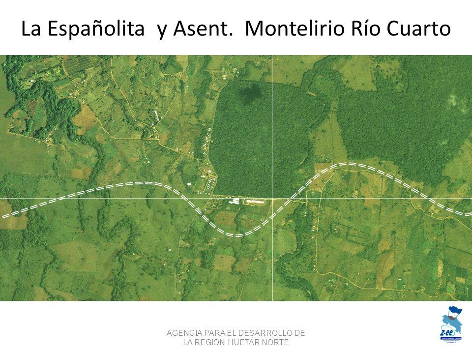La Españolita y Asent. Montelirio Río Cuarto AGENCIA PARA EL DESARROLLO DE LA REGION HUETAR NORTE