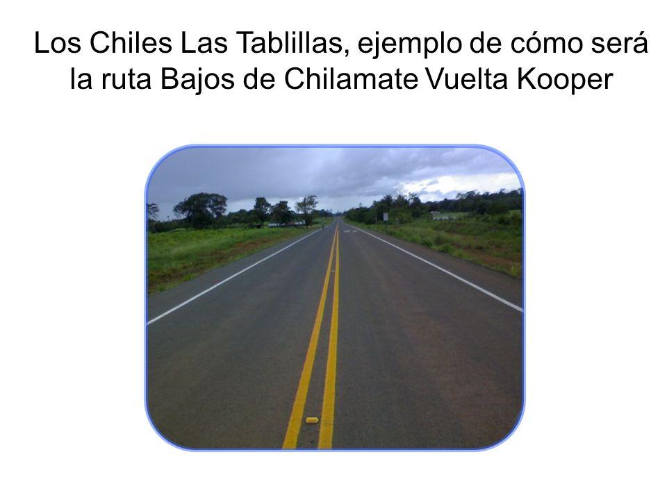 Los Chiles Las Tablillas, ejemplo de cómo será la ruta Bajos de Chilamate Vuelta Kooper