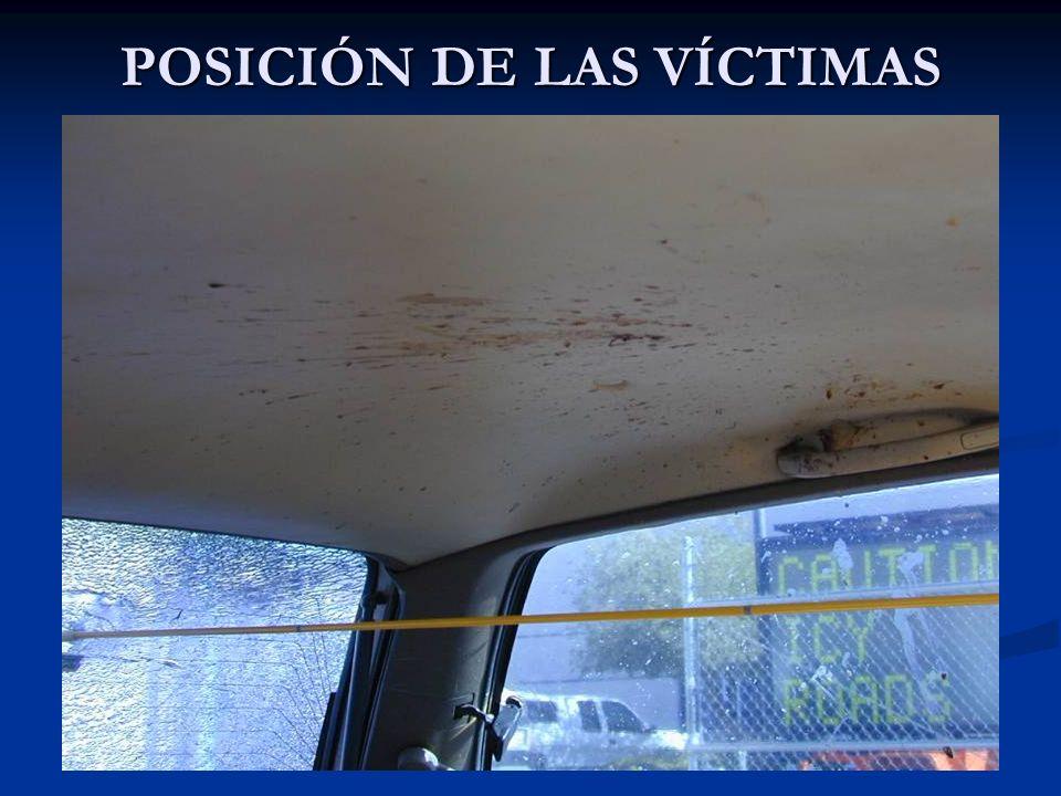 POSICIÓN DE LAS VÍCTIMAS