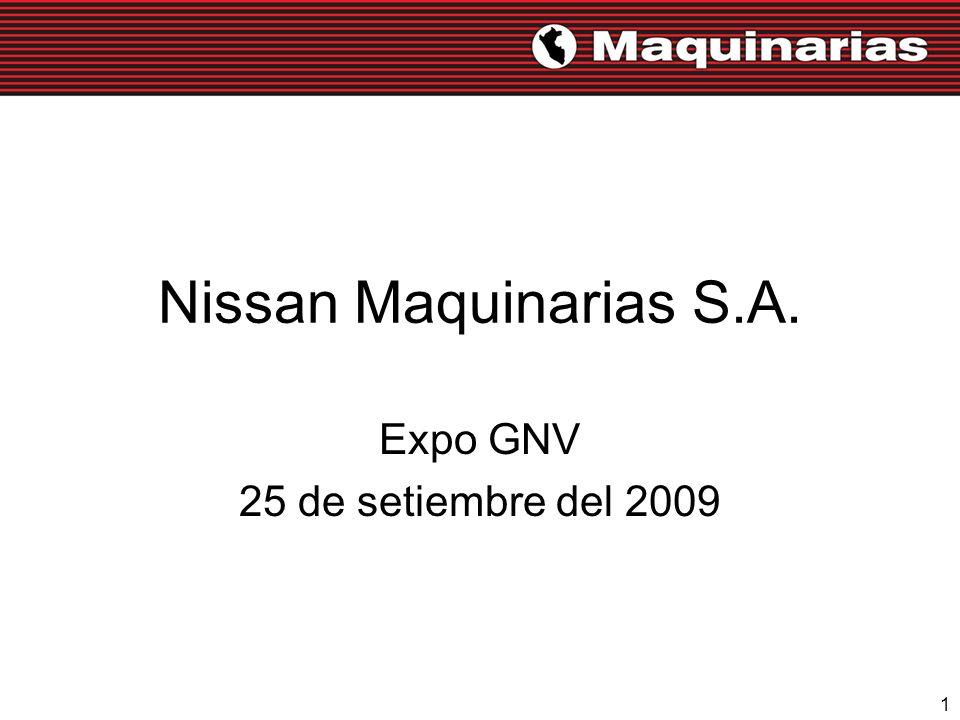 1 Nissan Maquinarias S.A. Expo GNV 25 de setiembre del 2009
