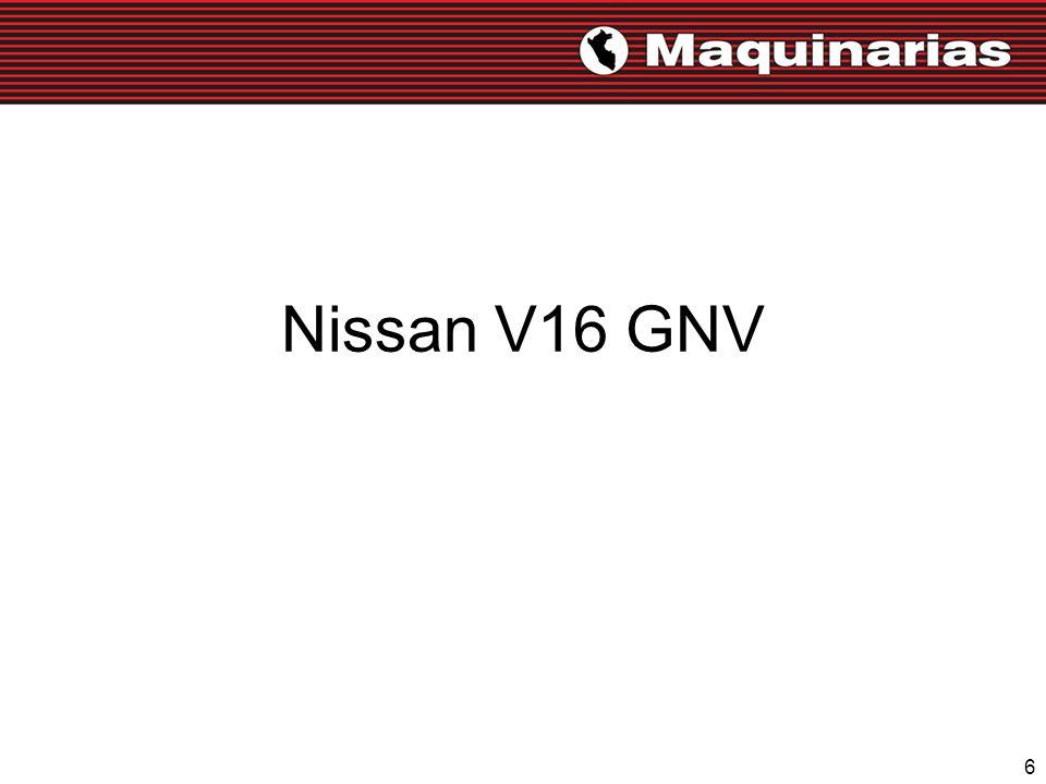 6 Nissan V16 GNV