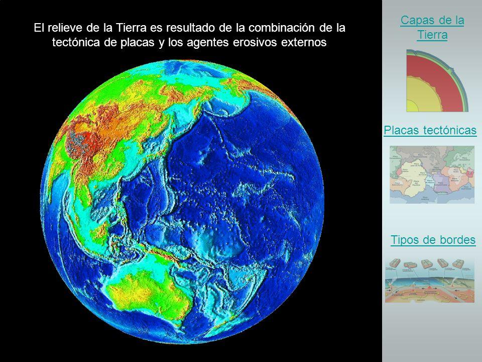 Núcleo externo Manto Corteza o Litosfera ESTRUCTURA INTERNA DE LA TIERRA ampliar Las capas de la Tierra Andreea Pirvan