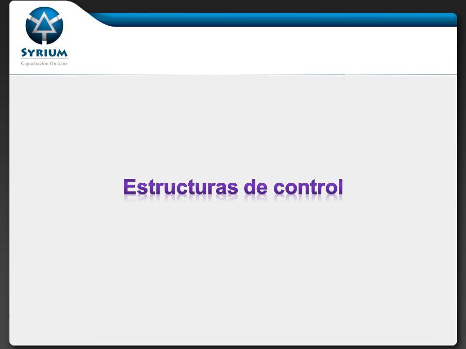 Estructuras selectivas: if-else switch Estructuras repetitivas: while for foreach