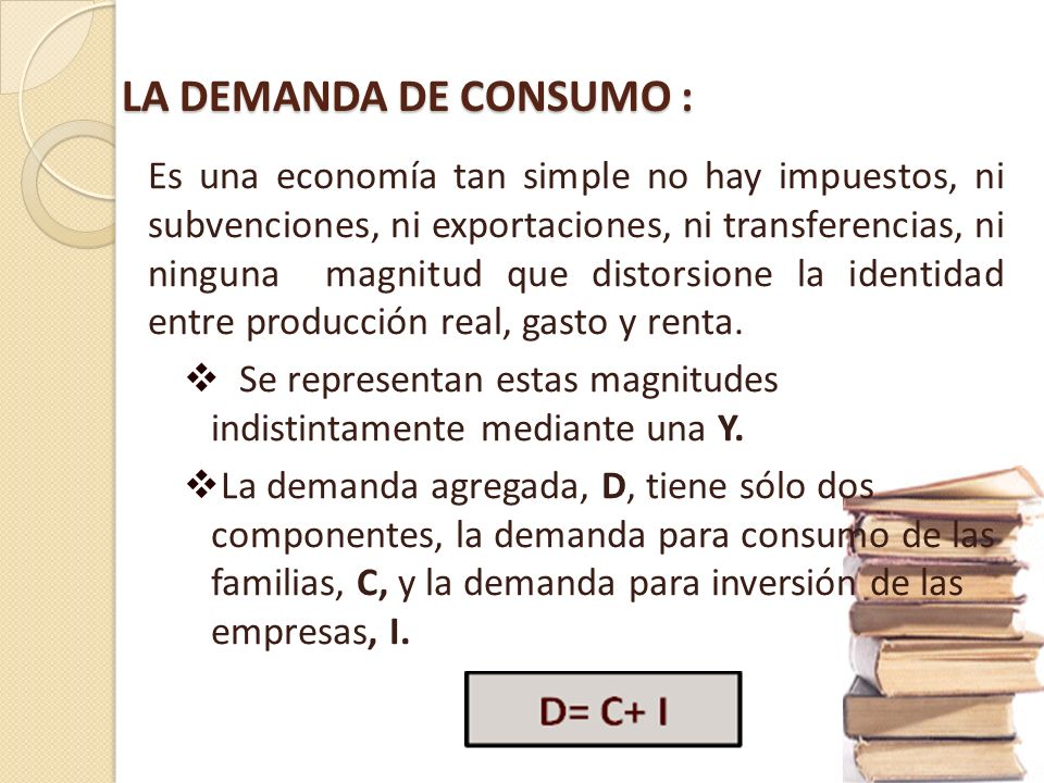 Por tanto la recomendación de política económica era el aumento de la demanda agregada. ¿Cómo? A través de la política fiscal. A través de la política