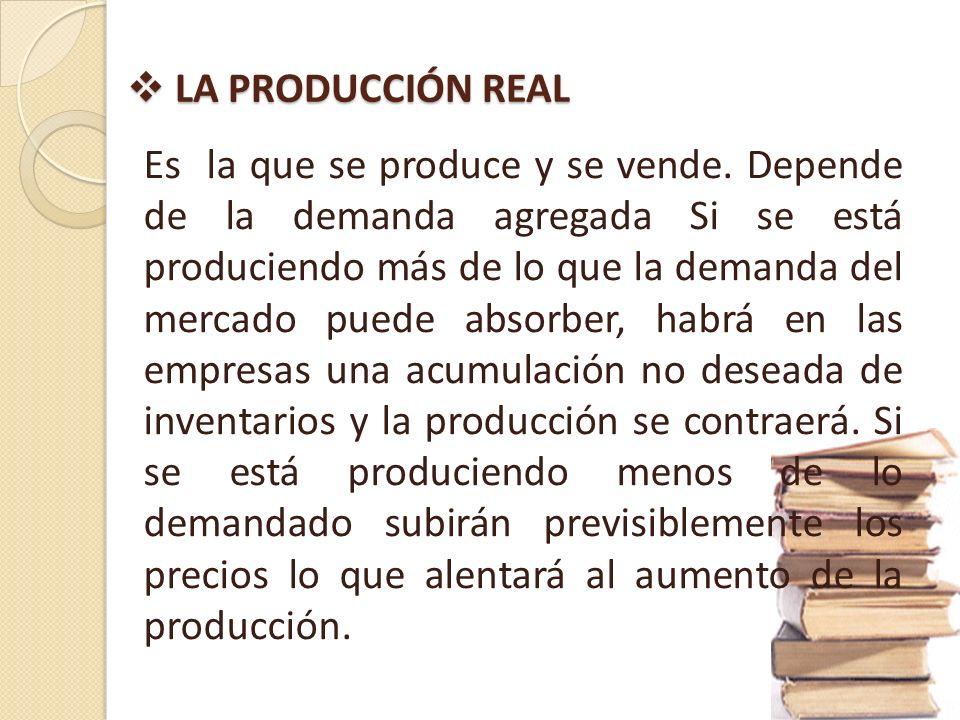 PRODUCCION POTENCIAL PRODUCCION POTENCIAL Se le considera al total de los bienes y servicios que una economía en situación de pleno empleo es capaz de