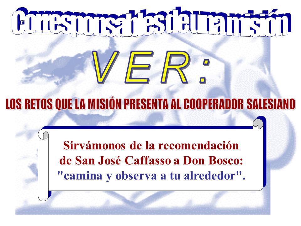 Sirvámonos de la recomendación de San José Caffasso a Don Bosco: