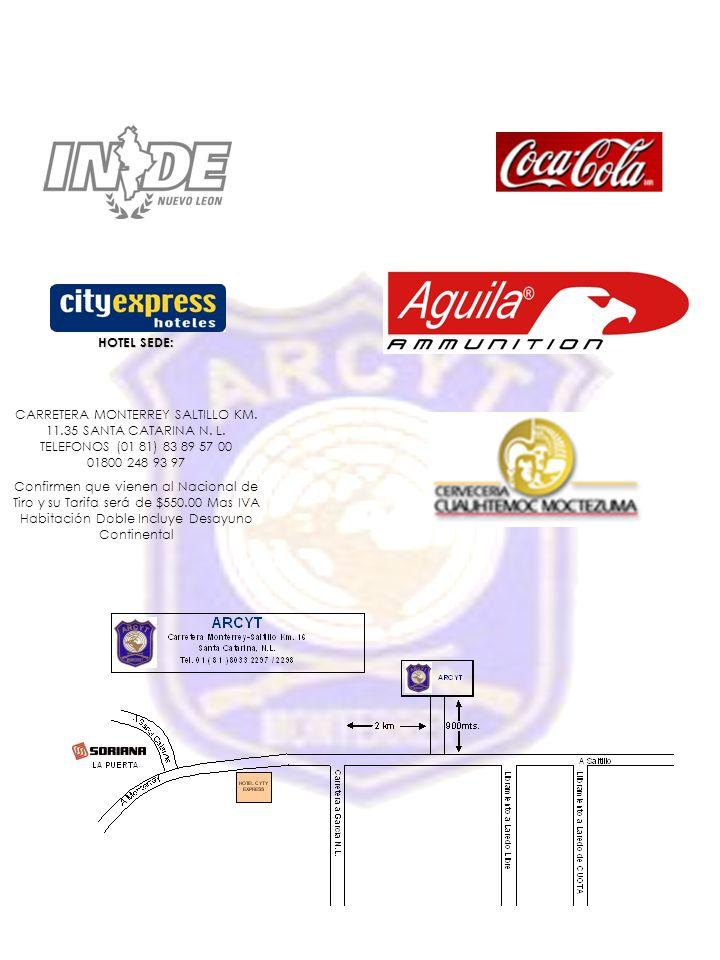 HOTEL SEDE: CARRETERA MONTERREY SALTILLO KM.11.35 SANTA CATARINA N.