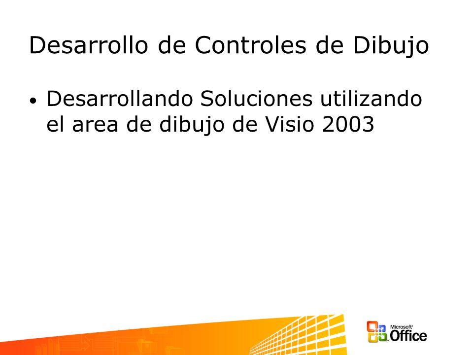 Desarrollo de Controles de Dibujo Desarrollando Soluciones utilizando el area de dibujo de Visio 2003