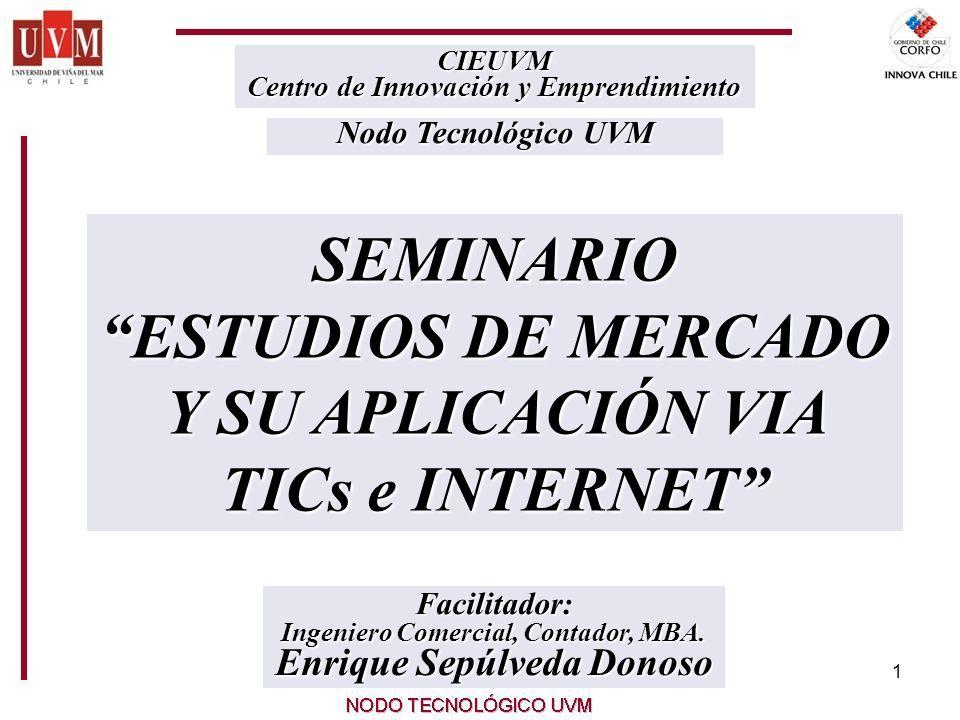 1 Facilitador: Ingeniero Comercial, Contador, MBA.