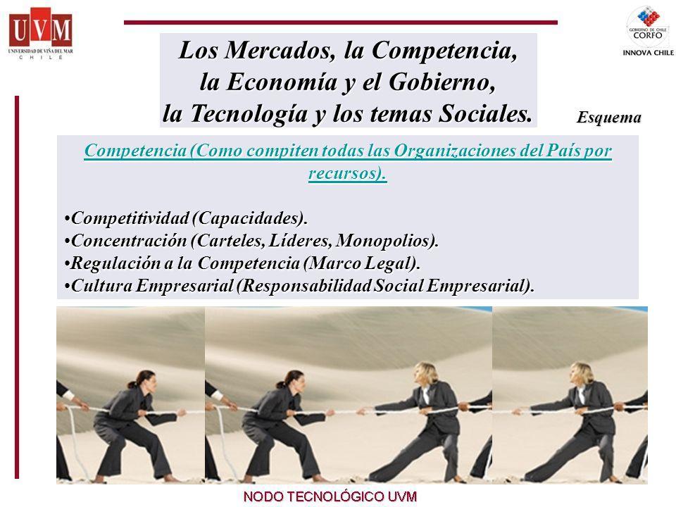 20 Competencia (Como compiten todas las Organizaciones del País por recursos).