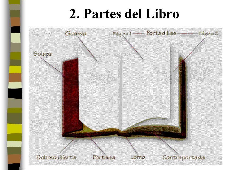 3 2. Partes del Libro