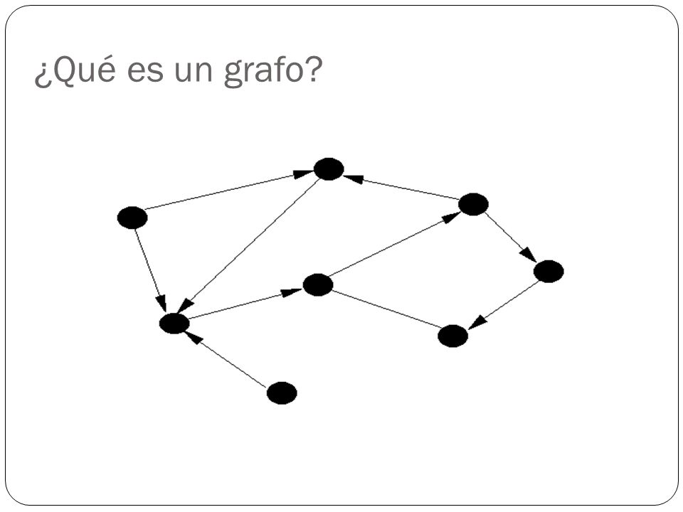 ¿Qué es un grafo?