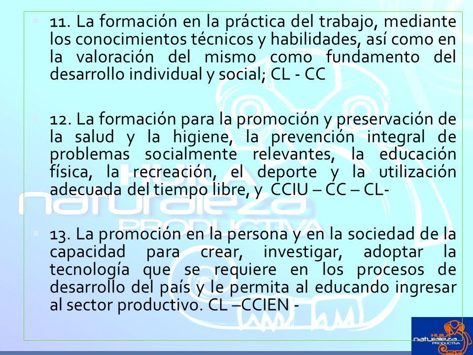 CATEGORÍAS CONCEPTUALES PEDAGOGÍA EDUCACIÓN CURRÍCULO AUTONOMÍA PLAN DE ESTUDIOS COMPETENCIAS BÁSICAS: ESTÁND.