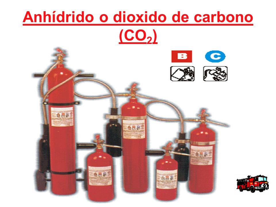 Anhídrido o dioxido de carbono (CO 2 )