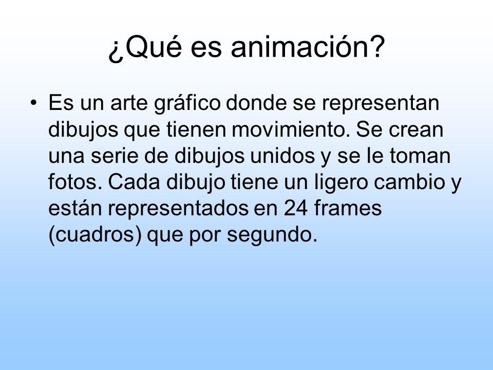 Pioneros en el arte de la animación Winsor McCay- 1871-1934 (EU) Emile Cohl-1857-1938 (Francia) Otto Messmer- 1892- 1983 (EU) Walter (Walt) Disney- 1901-1966 (EU) Myron (Grim) Natwick- 1890-1990 (EU)