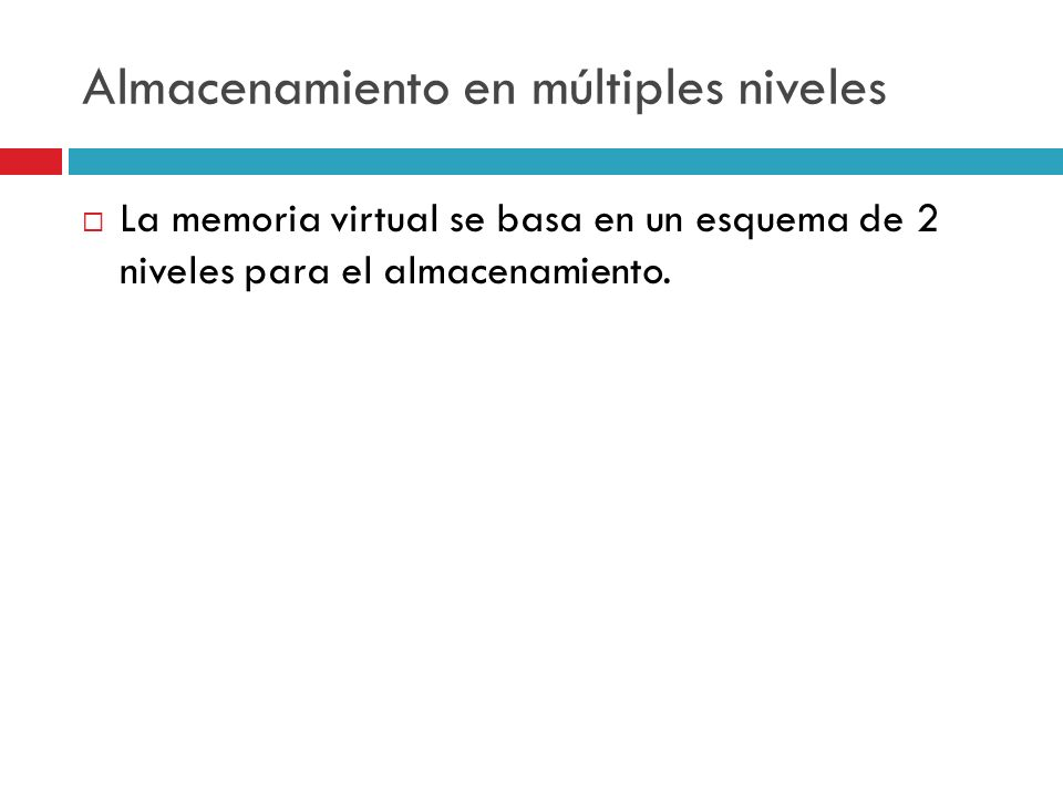 Estrategias de obtención Paginación por demanda: la página que es accedida es la próxima a alojar en MP.