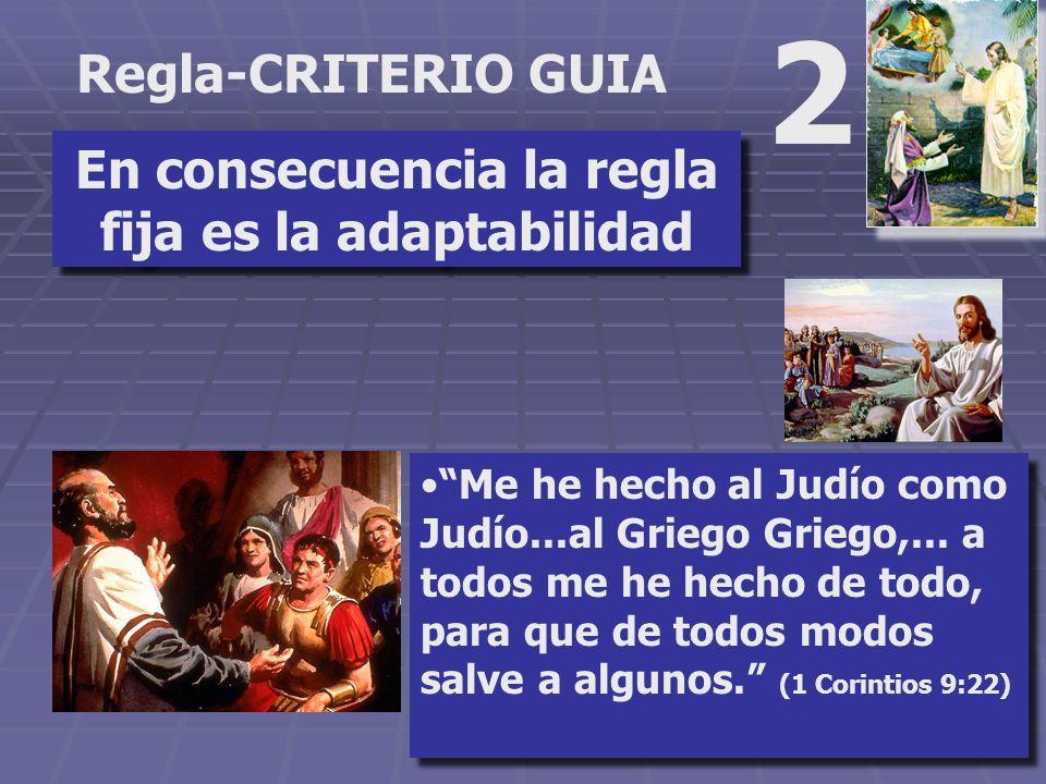 Regla-CRITERIO GUIA 1 La primera regla del estudio bíblico es que no hay regla fija. Situación Religiosa.Situación Religiosa. Interés demostrado.Inter