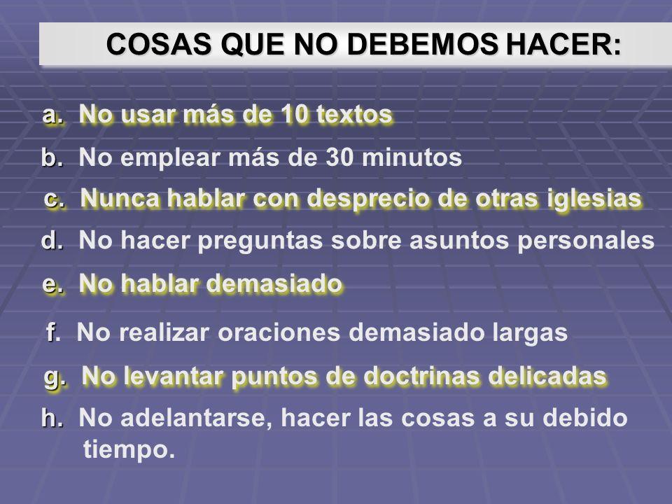 Llamado Llamado DEBE TENER: Introducción Cuerpo Cuerpo EL ESTUDIO BÍBLICO
