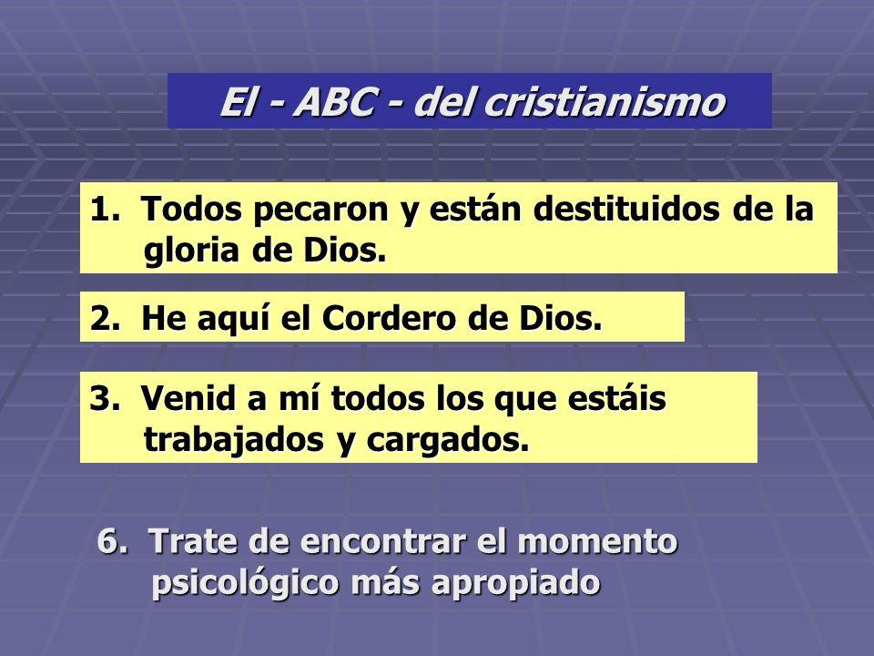 PASOS PROGRESIVOS PARA UNA DECISION PASOS PROGRESIVOS PARA PARA UNA DECISION 1. Enseñe todo el mensaje. 2. Predique a Cristo como el tema central del